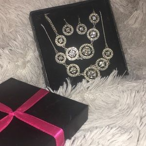 New sterling silver jewelry set